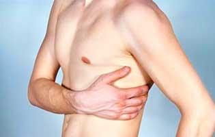 Симптомы покалывания между рёбрами