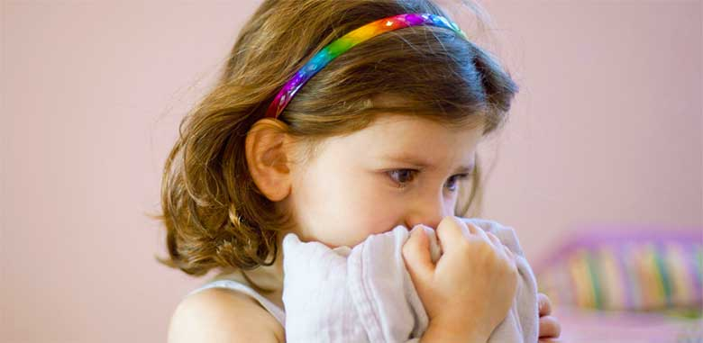 Девочка болеет ветрянкой