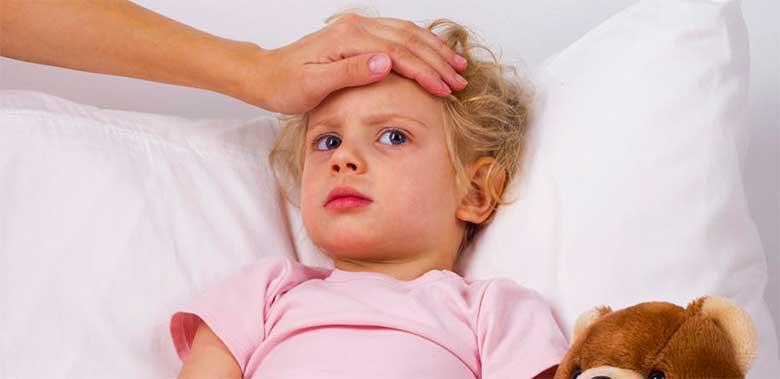 Ребёнок болен герпесом